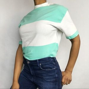 Le Tigre 90's Vintage Striped T-Shirt